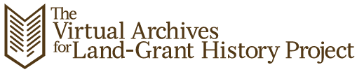 Virtual Archives for Land Grant History Project logo